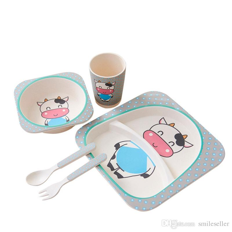Top Sale Baby Plates Cartoon Divided Plate Bowl Cup Cutlery Dinner Feeding Dishware Baby Products Plate Children VT0597 Plate Children Baby Plate Kids Plate ...  sc 1 st  DHgate.com & Top Sale Baby Plates Cartoon Divided Plate Bowl Cup Cutlery Dinner ...