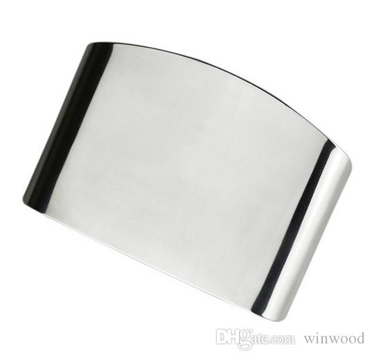Stainless Steel Finger Guard Vegetable Protect Hands Finger Guard Anti Cut Hand Creative Kitchen Tools Small Tool Dining 2017