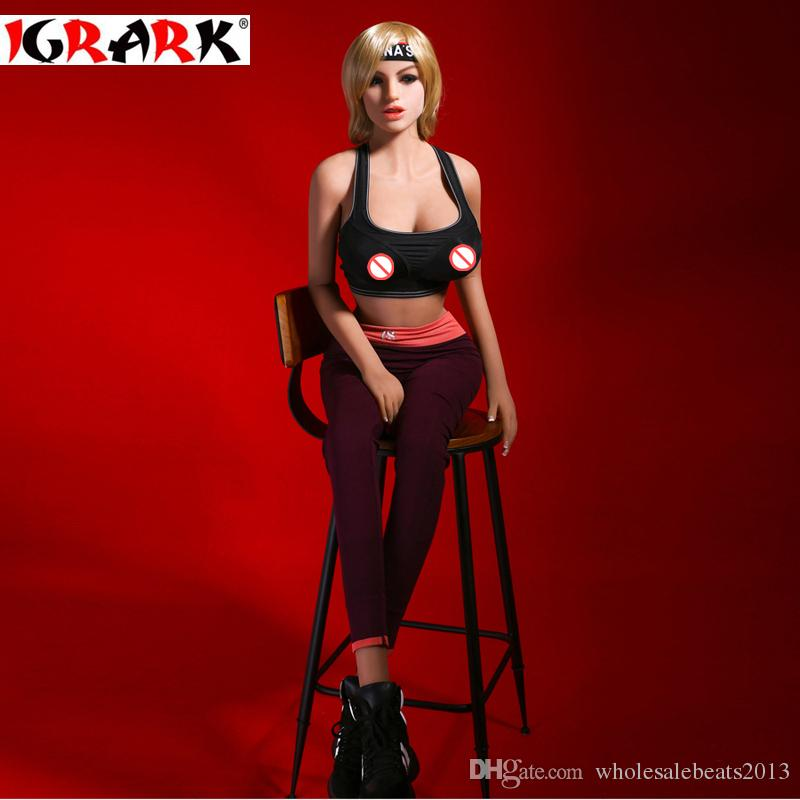 igrark Real Sex Doll for Men,165cm158cm140cm Sex Products silicone dolls,3 holes adult love doll for male toys