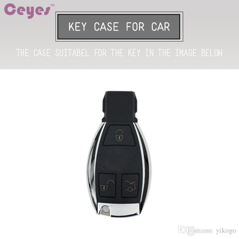 Key Key Shell TPU Copertura protettiva Chiave Mercedes Benz A B C CLASSE GLA C S E GLC GLK CLA ML GLE GLE