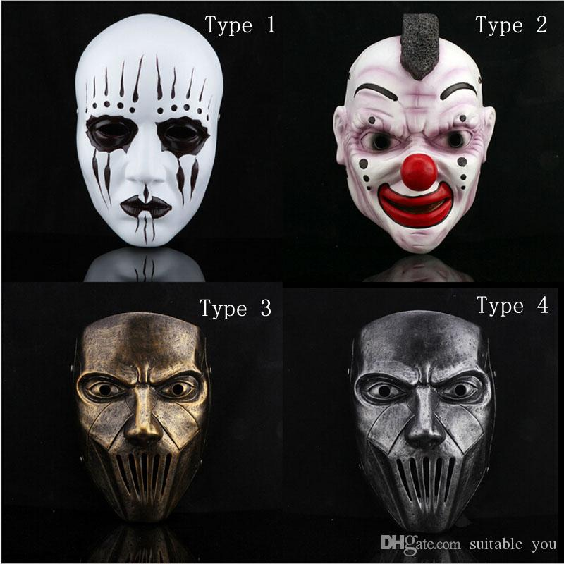 Slipknot Joey Jordison Resin Masks Cosplay Halloween Party Mask For