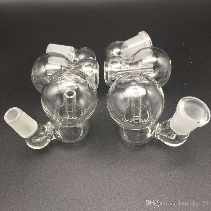 Smoking Accessories Glass Ash Catcher Bowls Male Female 10mm 14mm 18mm Joint Glass Ash Catcher bowls for Oil Rigs Glass Bongs