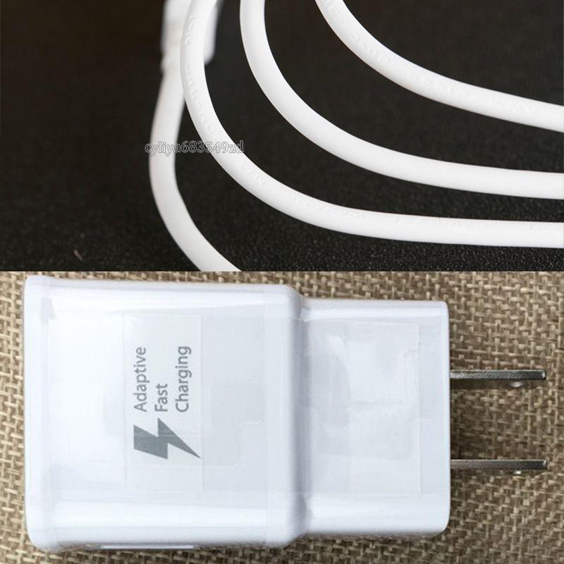 2 em 1 parede carregadores de kits Carregador Rápido UE US Início carregador de parede Adaptador + originais Micro cabo de dados USB para o smartphone carregamento rápido