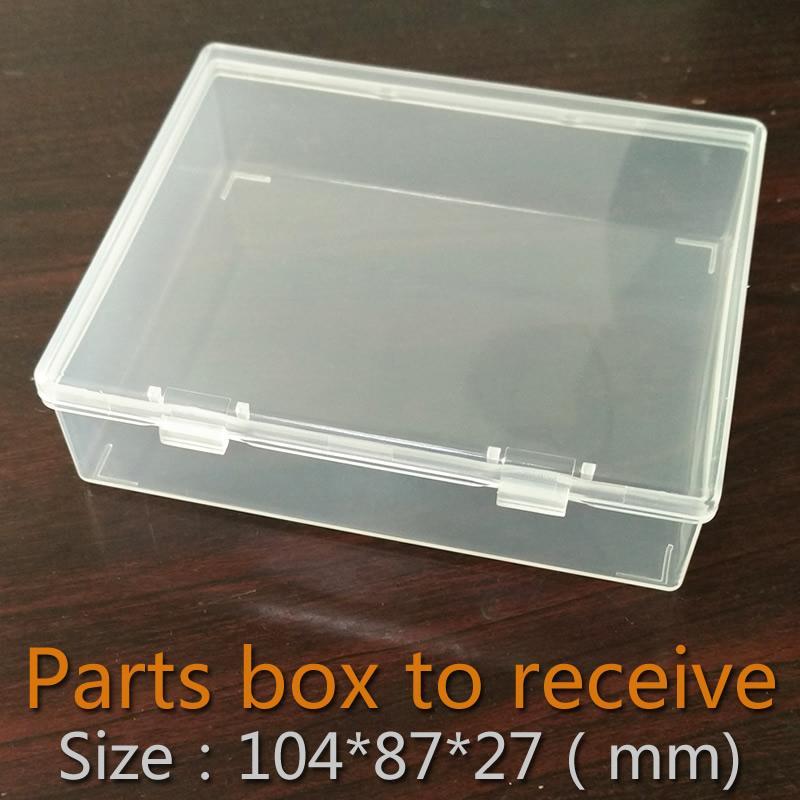 2018 Wholesale Parts Box Collapsible Rectangle Plastic Boxes