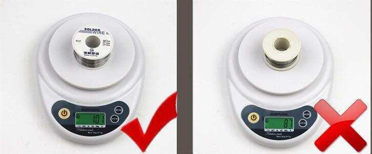 3шт Оптовая высокой чистоты свинца пайки проволоки 1 мм поток 2.2% 63/37 рулон канифоли ядро олова сварки железной проволоки катушки сварки практика 100 г / шт