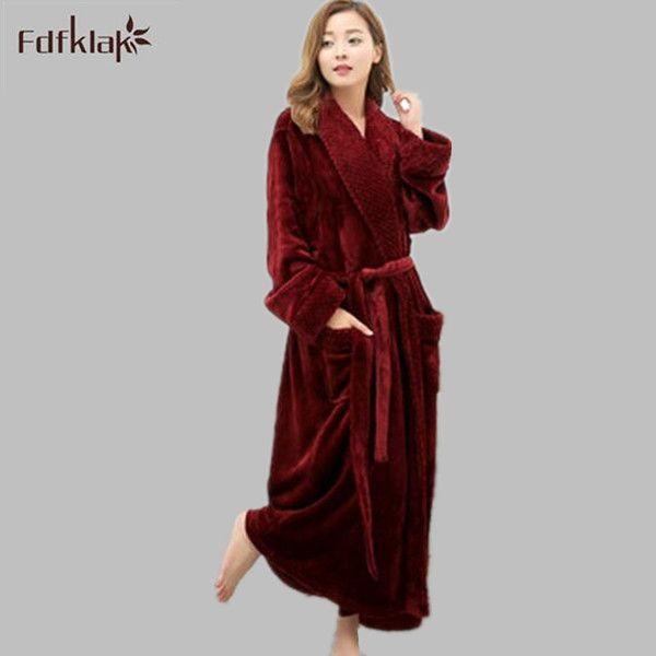 2018 Wholesale Long Bathrobe Home Wear Clothes Dressing Gown Women\'S ...