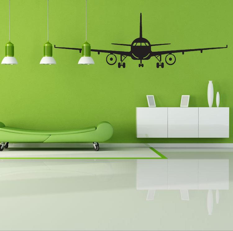 Airplane Wall Decor 3d airplane wall stickers muraux wall decor airplane wall art
