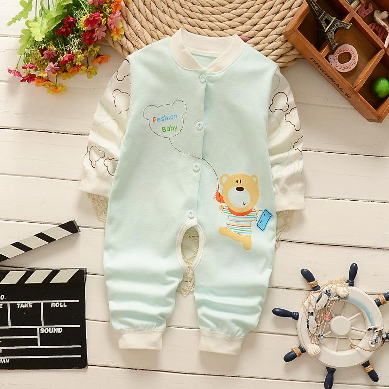 8502761ccd7 2019 Baby Clothing 2018 New Newborn Baby Boy Girl Romper Clothes Long  Sleeve Infant Product From Yokilan