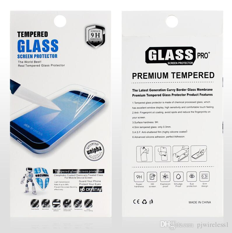 For Galaxy core prime G360 Tempered Glass Screen Protector Film for apple iPhone 6 plus 5s For LG L Bello 2 Nexus 5X