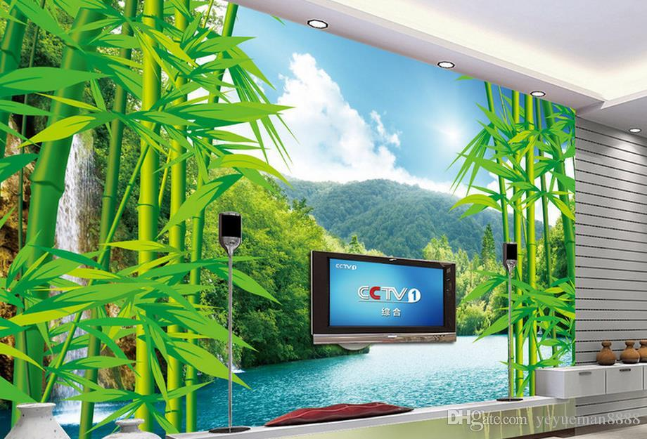 Customized 3d Wallpaper Bamboo Forest Landscape Tv Backdrop Wallpaper For  Walls 3 D Photo Wall Mural For Living Room Wallpapers Wallpapers Hd  Wallpapers ... Part 65