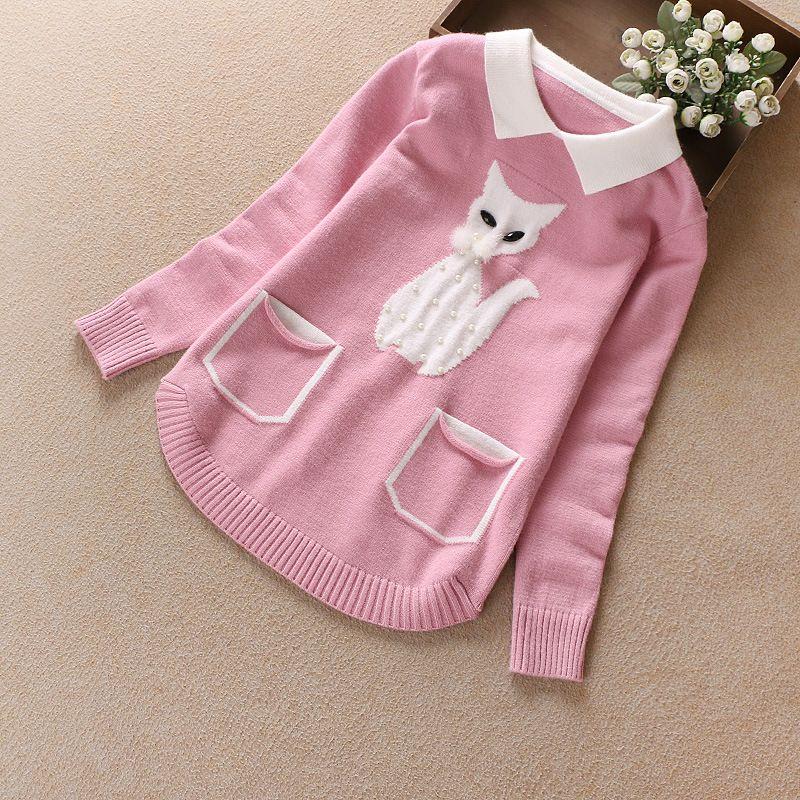 f57dac634912 Winter Sweaters Girls