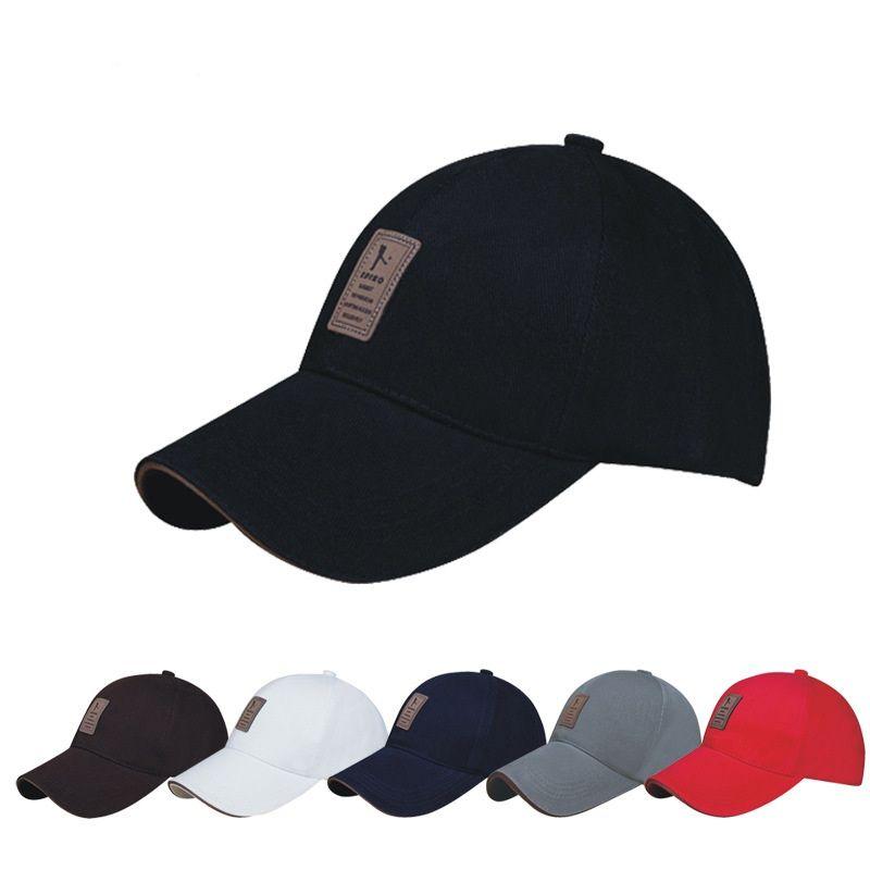 58e5e8646ac EDIKO Logo Cotton Baseball Cap Sports Golf Snapback Outdoor Simple ...