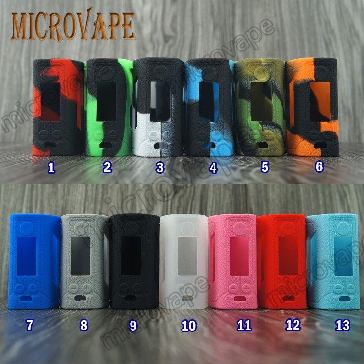 Eyc популярный wismec rx gen3 case 13 цветов Ясень бесплатно новый силиконовый Wismec Reuleaux RX GEN3 Box Mod с OLED-дисплеем 300 Вт TC