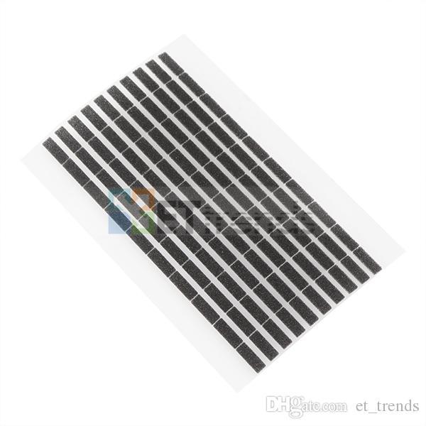 100% original novo digitador espuma + lcd espuma para iphone 6 plus 200 pçs / lote substituição frete grátis por dhl