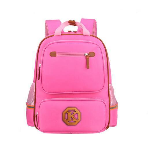 Children Backpack for Kids Girls Boys Plain Student School Book Bags Kids Birthday Party Gift Hot Sale 38*28*13CM
