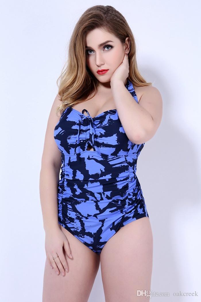 nuovo stile moda plus costume da bagno bikini di grandi dimensioni sexy backless donna vita alta con reggiseno e supporto reggiseno 3XL-5XL