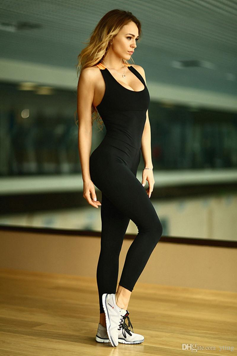 new design Women Tight jumpsuits Nice Leggings High Elastic Thin Sports Yoga Pants Fitness Running and other sports