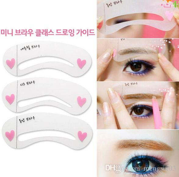 Eyebrow Stencils Reusable Shaping Eyebrows Tool Various Shapes