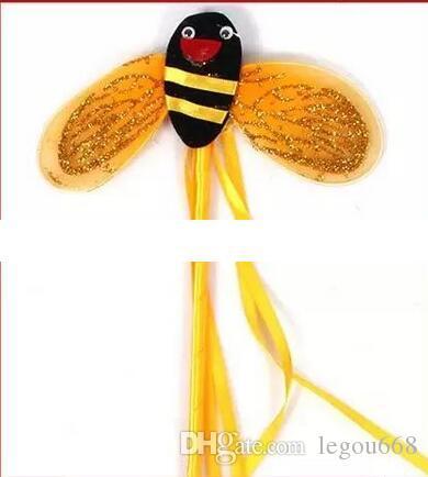 Los trajes de los niños accesorios princesa danza falda abeja traje de fiesta suministros una familia de cuatro JIA179