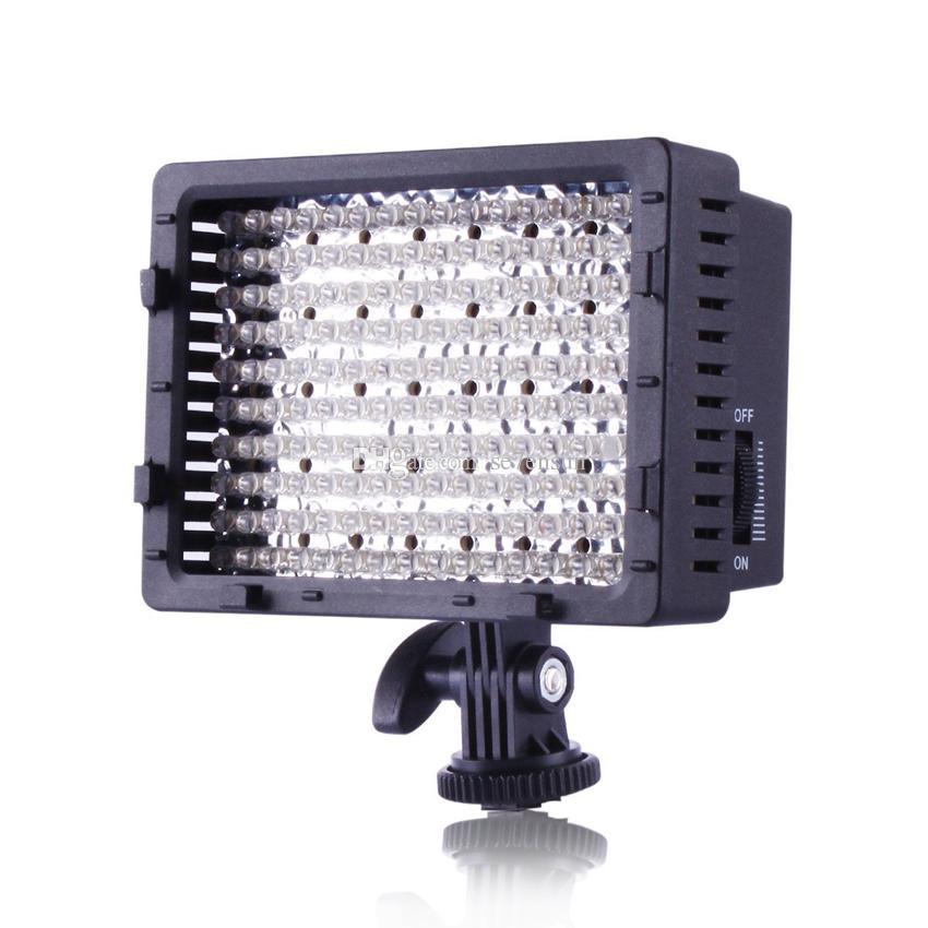 160 LED CN-160 Dimmable Ultra High Power Panel Cámara de fotos digital / Videocámara luz, luz LED para Canon, Nikon, Pentax, Panasonic, SONY