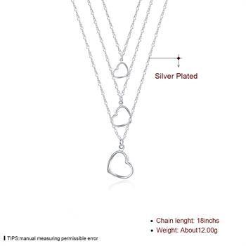 Großverkauf - Kleinster Preis des Verkaufs Weihnachtsgeschenk 925 silberne Art und Weiseschmucksachen geben Verschiffen Necklacey N038 frei