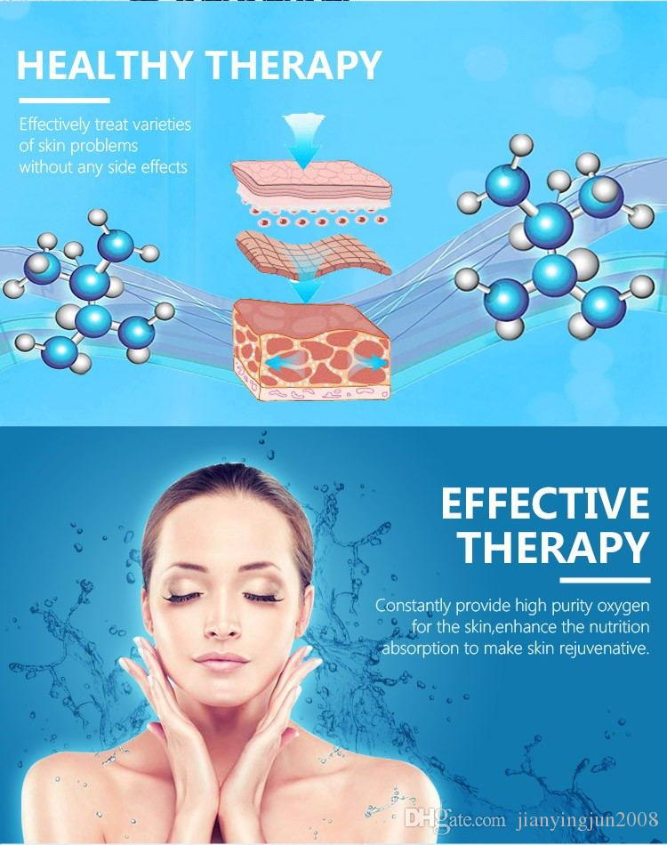 oxygen jet infusion diamond dermabrasion peeling facial skin care device
