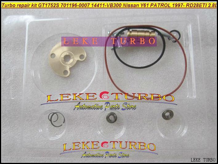Turbo repair kit rebuild kit For GT1752S 701196-5007S 701196 14411-VB300 turbocharger for NISSAN Y61 PATROL 97- RD28Ti RD28ETI 2.8L RD28T