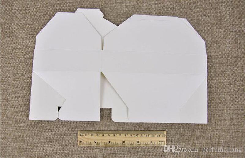19.5 cm x 12.5 cm x 4 cm Kraft Kağıt Hediye Kutusu Zarf Tipi karton Kutular Şeker Paketi Düğün Parti Festivali Için ZA3861
