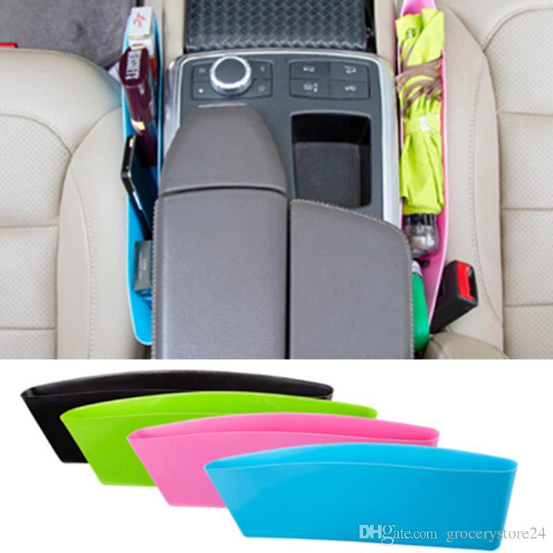 1 Sleeve of Catch Caddy Car Organizer Pocket Store Stop Item Drop Under Seat