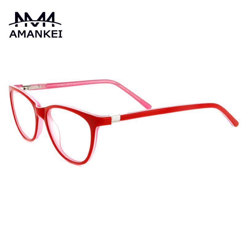 2018 Wholesale Black Eyeglasses Frame 2016 Designer Women\'S Red ...