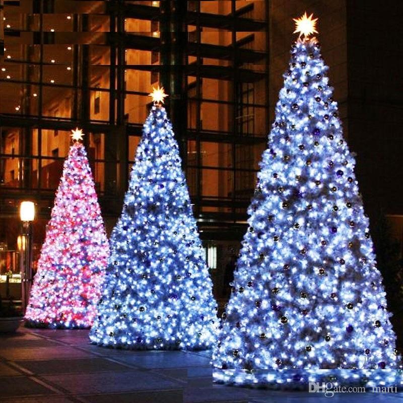 LED cuerdas 20pc 10M Navidad Navidad 10 metros 100LED Luces de cuerdas Flash Cortina de ventana Luz de vacaciones 87U