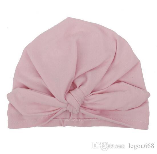 Новые дети шляпа ребенка детские уши уха завязывают голову шляпа Индийский cap бант шляпа
