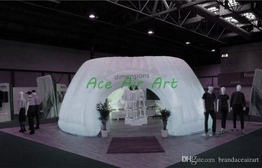 Hot sales inflatable whisper room enclosure for trade show display