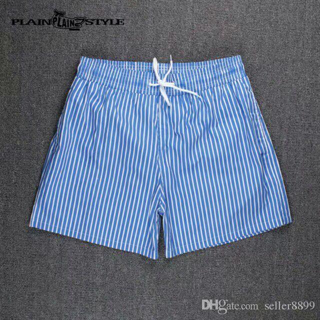 Marque De Mode Shorts Hommes D'été Plage Shorts Pantalon De Haute Qualité Maillots De Bain Bermudes mâle lettre Surf vie Hommes De Bain 0002