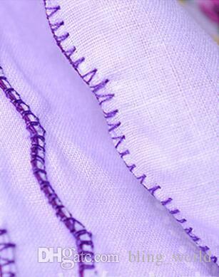 100% Algodón Pañuelo Toallas Cortador Damas Floral Pañuelo Decoración Del Partido Servilletas de tela Artesanía Vintage Hanky Omán Regalos de boda SF35