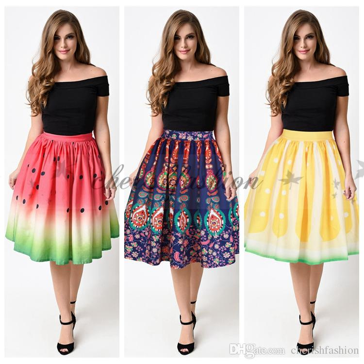 womens summer skirts skirt ify
