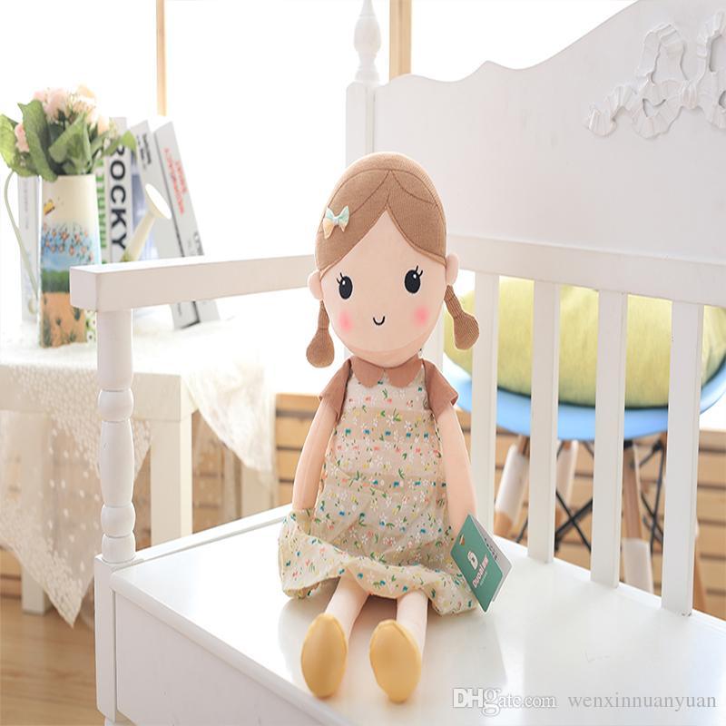 Compre Duoai Dibujos Animados Encantadoras Niñas Muñecas Suaves Con ...