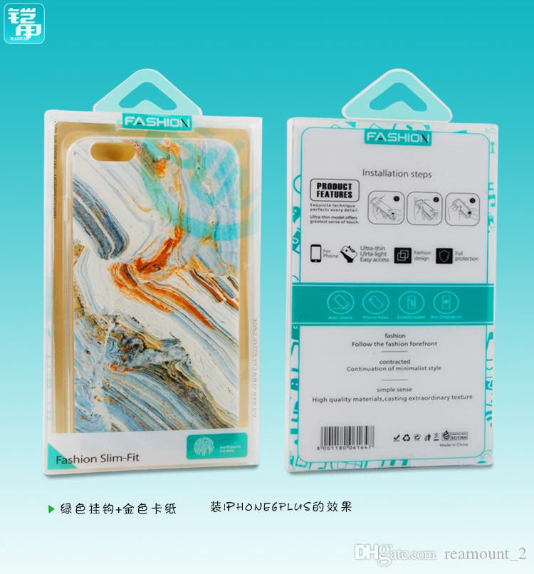Wholesale for Display Custom printing PVC Retail Package Universal Packing Packaging Blister Box for iPhone 7 7PLUS case