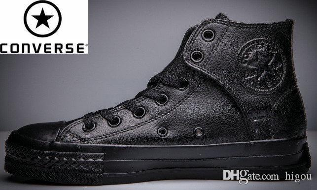 converse leather mens boots