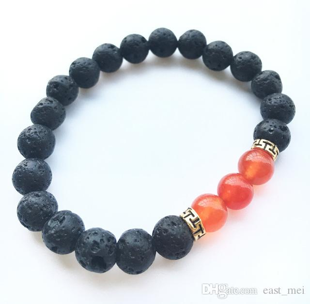 Brand new Natural stone volcanic stone emperor stone turquoise bracelet FB255 a Charm Bracelets