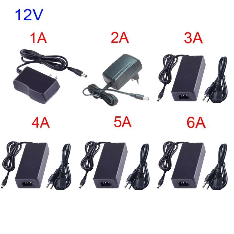 DC12V Volt Lighting Transformers 12v alimentation AC110V-220V Imput Output DC12V LED lampe pilote tuyau plastique