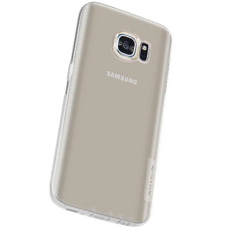 sports shoes 19be4 a113f For Samsung Galaxy S7 case Nillkin Nature TPU Silicone Case Ultra Thin Back  Cover for Samsung S7 edge mobile Phone Cases