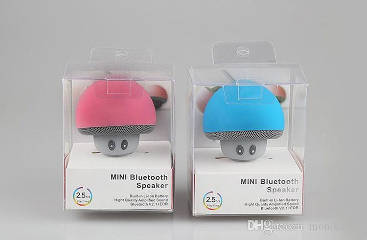 Small mushroom head style Bluetooth speakers Portable outdoor cartoon loudspeaker box