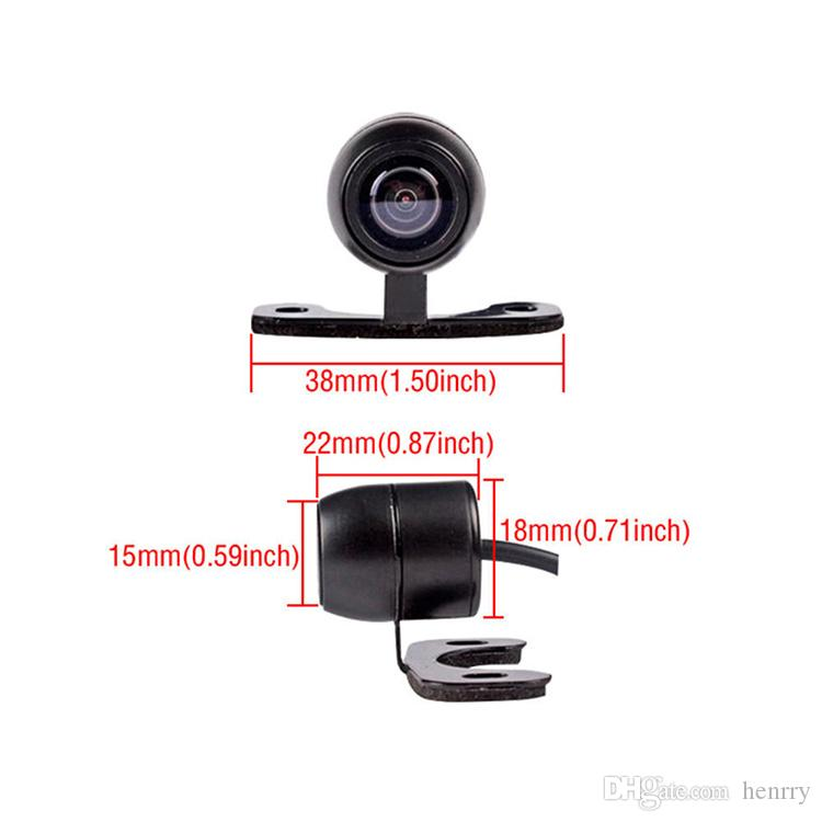Rangefinder Car Camera With Remote Control PZ403AD PZ406AD PZ407AD IP67 Waterproof 1/3 CMOS High Definition Image DC12V 170 Lens Angle