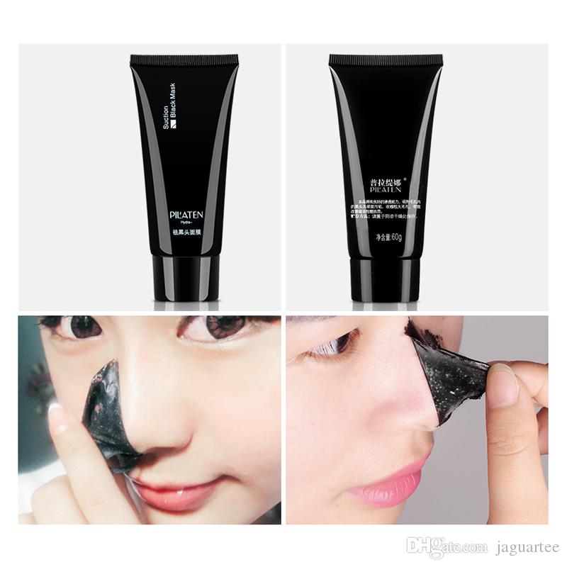 HOT PILATEN Blackhead Remover Deep Cleansing Purifying Peel Acne Treatment Mud Black Mud Face Mask