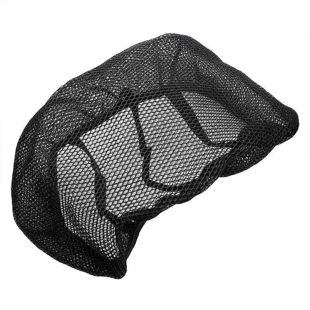 For Honda Yamaha Harley Elastic Motorcycle Seat Cover Moto Cushion Cover Universal Sunscreen Breathable Net Anti-slip