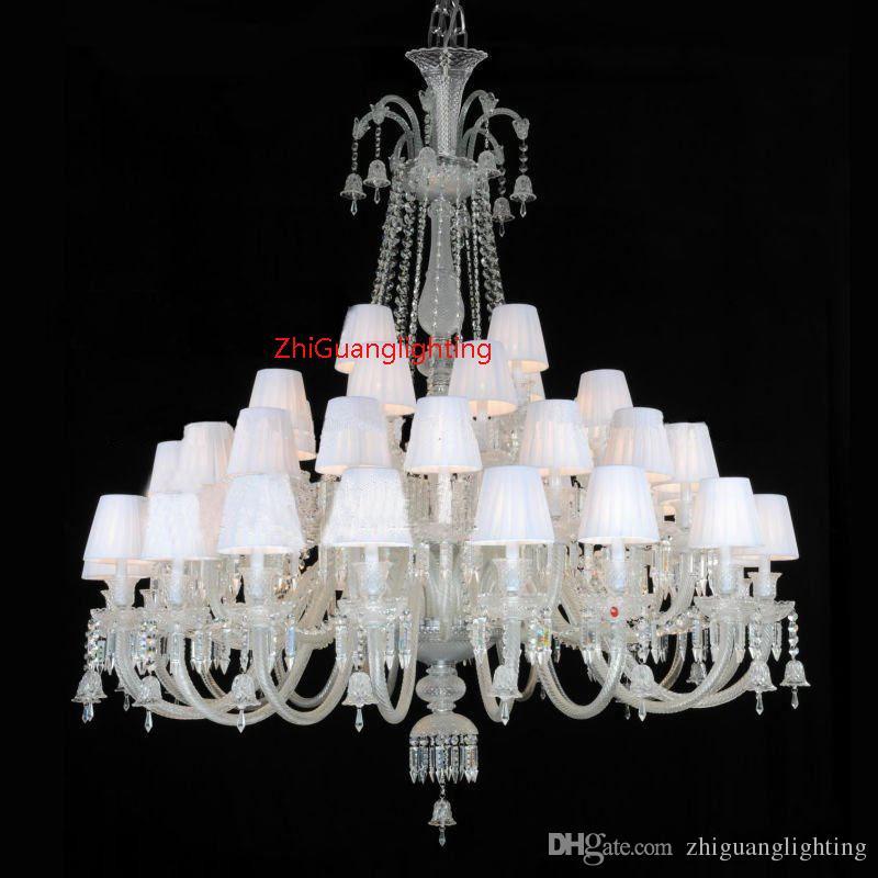 Lampadario di cristallo di stile europeo di lusso del ristorante di illuminazione del lampadario di cristallo della camera da letto della villa lampada nera del candeliere
