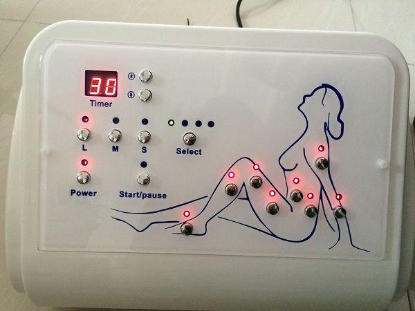 a pressotherapy das clínicas dos termas carreg a máquina lymphatic do emagrecimento do pressotherapy da massagem