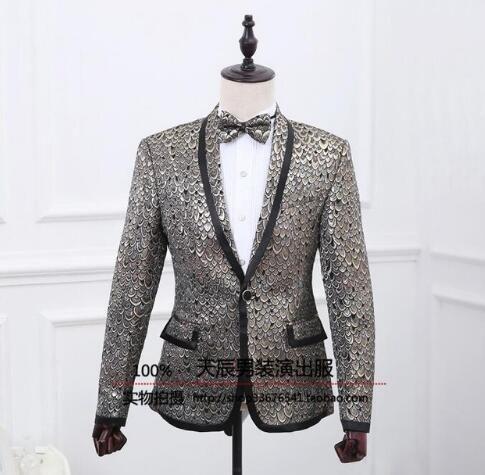 2018 Scarlet Flowers Blazer Men Formal Dress Latest Coat Pant ...