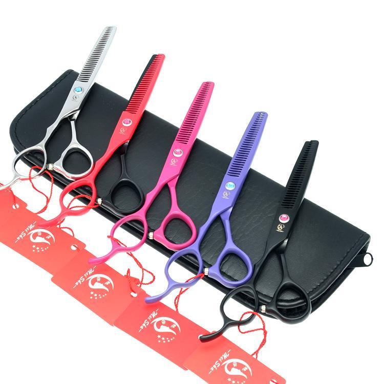6.0Inch Meisha Left Handed Barber Scissors Hair Thinning Shears JP440C Professional Left Hand Hairdressing Scissors Salon Razor HA0127